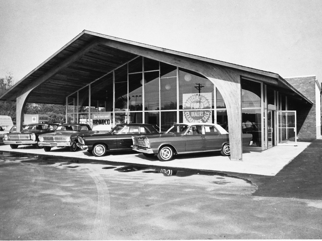 Vintage Ford Motor Company Dealerships | Flickr