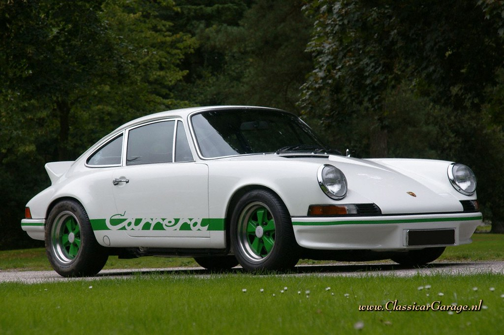 Porsche 911 Carrera 2 7 Rs Touring 1973 Marc Vorgers