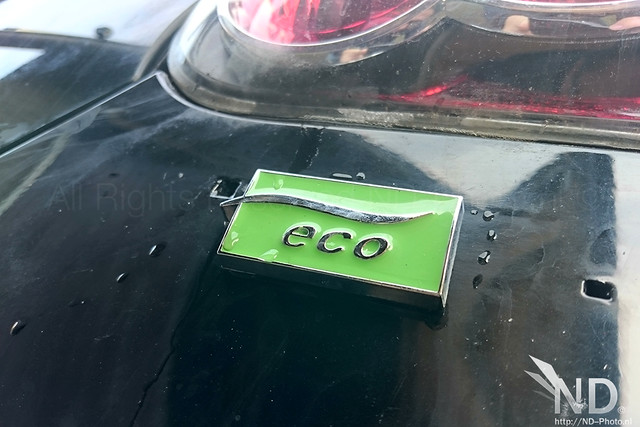 Toyota Aygo Eco Badge decal