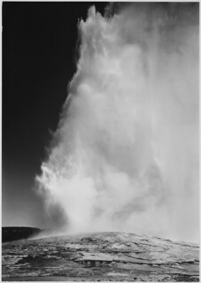 Old Faithful Geyser, Yellowstone National Park | by The U.S. National Archives