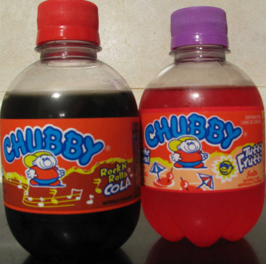 Chubby Sodas So Our Local Grocery Store Started To Carry
