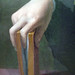 Bronzino, Portrait of a Young Man detail of hand