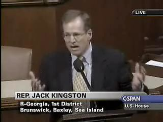 "Jack Kingston: ""Get married and work longer hours!"" 