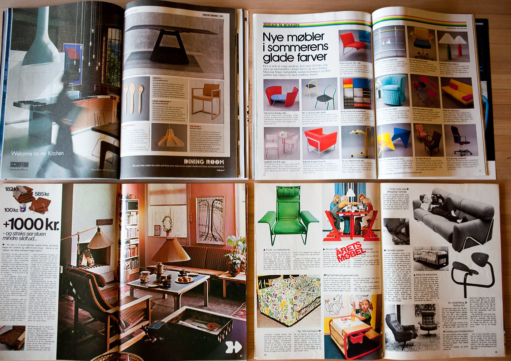 ... Interior Design Mags, A 36 Year Span | By Lars Plougmann