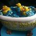 duckie bathtub cake