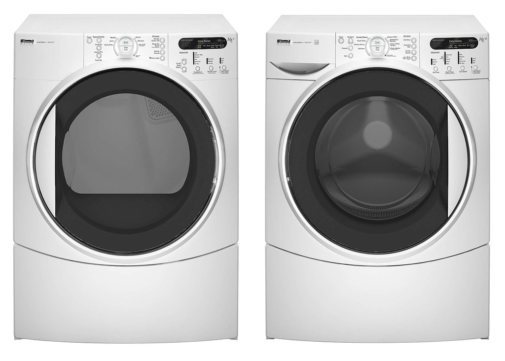 kenmore elite white he3t 4 0 cu  ft  king size capacity pl