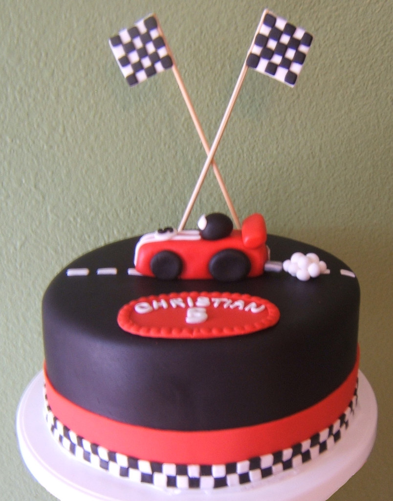 Race Car Cake I Made This Cake For My Best Friend S Son
