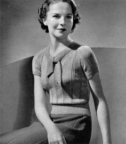 Vintage Knitting Pattern Nostalgia Rules Flickr