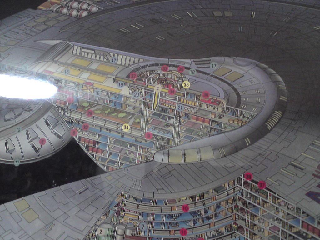 uss enterprise ncc 1701 d cutaway poster this great lookin flickr