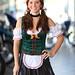 Lovely Oktoberfest Beer maid
