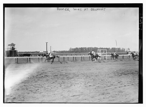 """Roamer"" wins at Belmont  (LOC) 