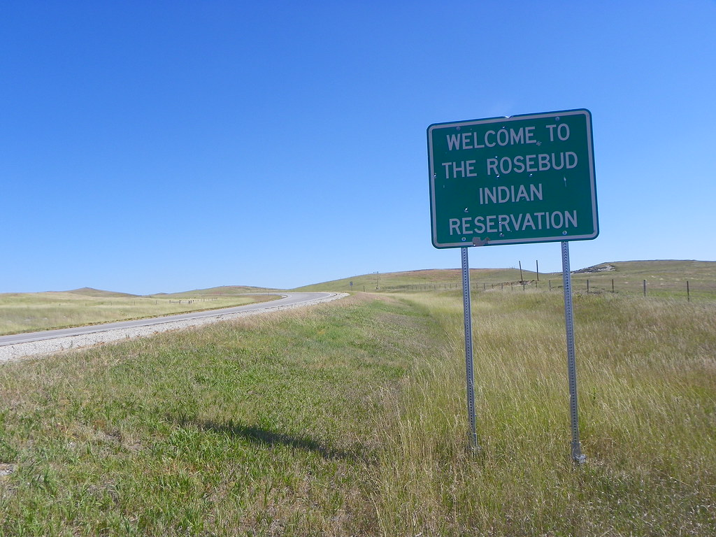 welcome to the rosebud indian reservation