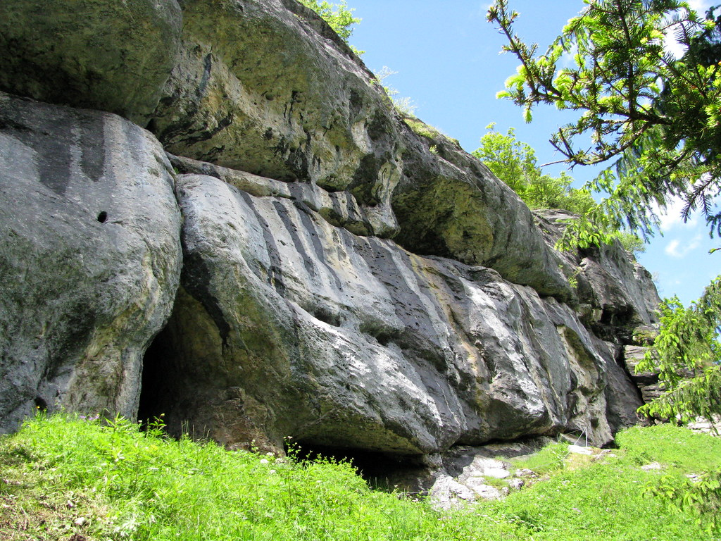 Klettersteig Mürren : Felsen am klettersteig mürren kanton bern schweiz flickr