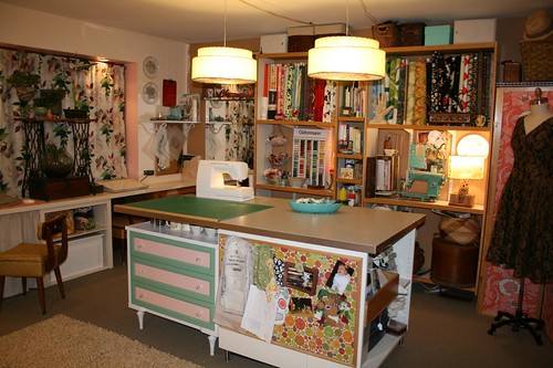 Sewing Room Makeover Another Angle Of The Room Miss