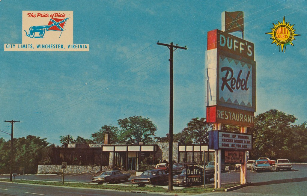 Duff's Quality Court Resort Motel & Rebel Restaurant - Winchester, Virginia