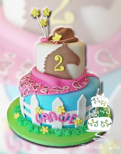 Rodeo Birthday Cake Ideas