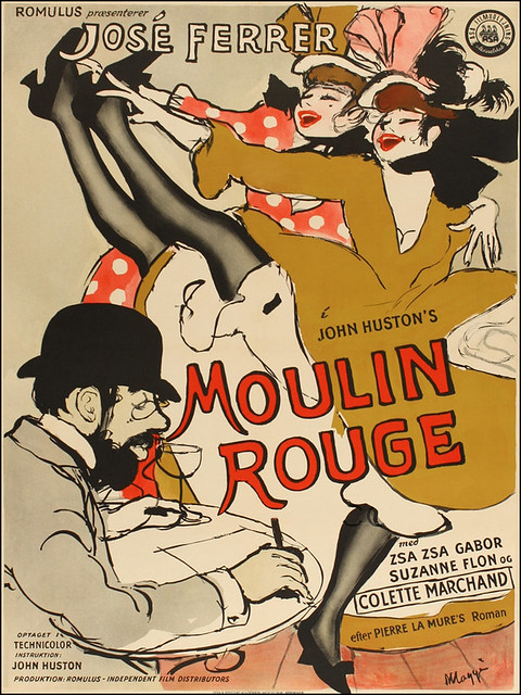 Moulin Rouge - 1952 - Poster 3