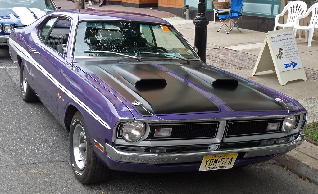 1970 dodge demon 340 classic car show asbury park nj 7. Black Bedroom Furniture Sets. Home Design Ideas