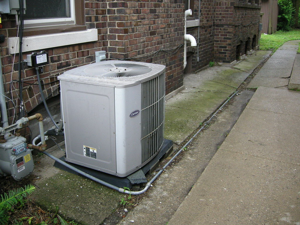 #495F38 Carrier Air Conditioner (appears To Be 5 Ton Capacity Unit  Brand New 9971 3 Ton Carrier Air Conditioner images with 1024x768 px on helpvideos.info - Air Conditioners, Air Coolers and more