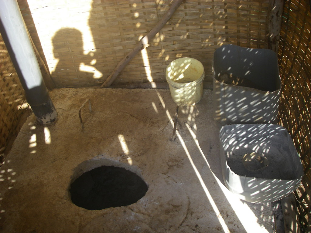Ventilated Dry Pit Latrine This Is A Waterless Pit