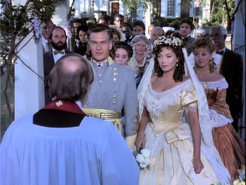 Patrick Swayze Lesley Anne Down Wedding Orry and Madaline ...