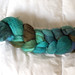 Rhinebeck Fiber: Cloverleaf farm hand dyed BFL combed top