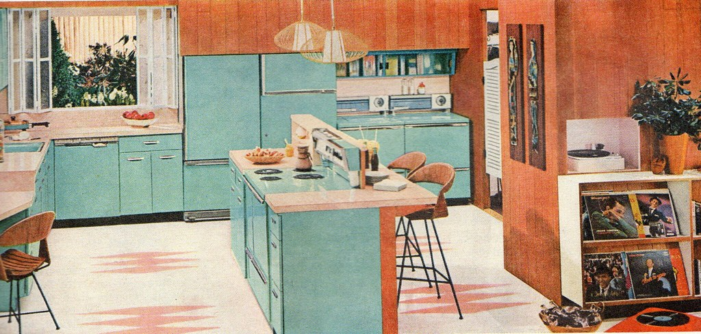 1958 general electric kitchen ethan flickr for 1950s decoration