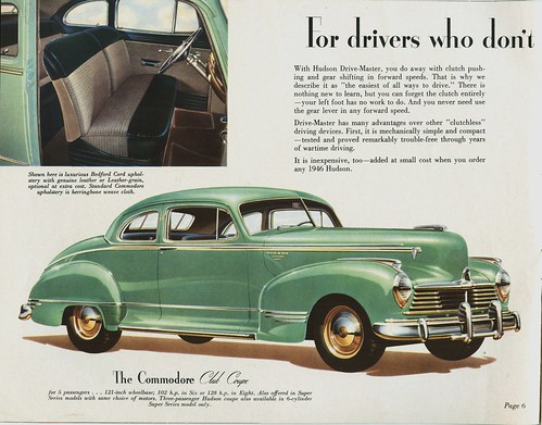 1946 Hudson Commodore Club Coupe Alden Jewell Flickr