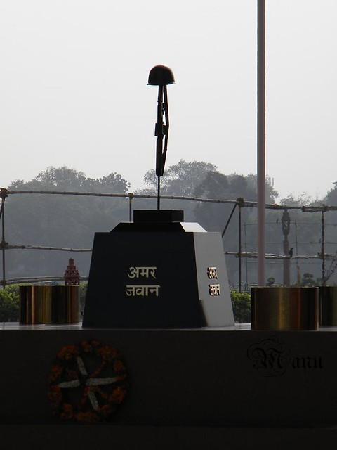 Amar Jawan Jyoti India Gate Delhi This Structure Was