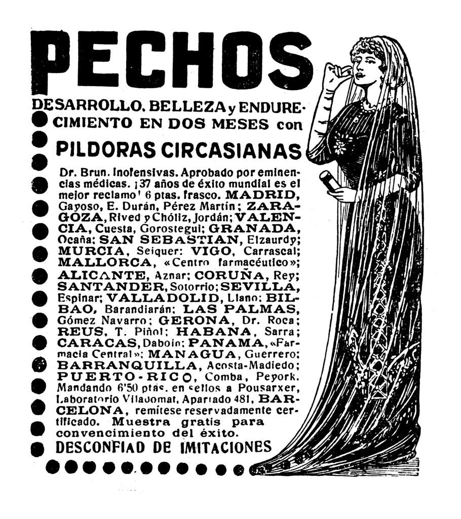 Resultado de imagen de pildoras circasianas