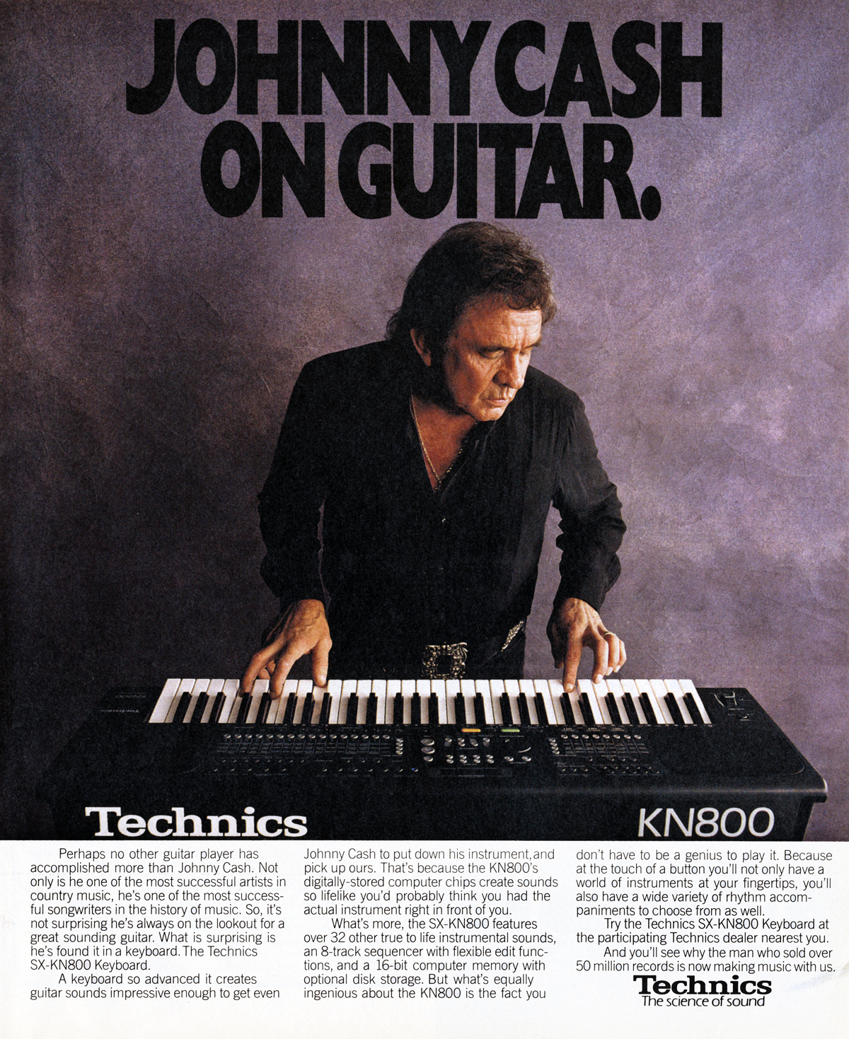 Technics featuring Johnny Cash - 1990