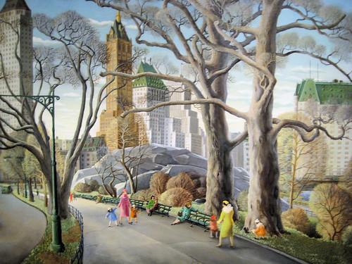 Central Park - 1934 Ne...