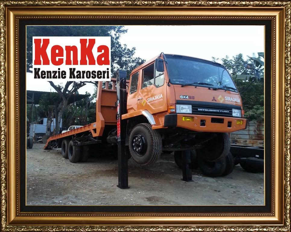 Karoseri Truck Self Loader - 8