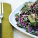 Fruited Kale and Cabbage Salad closer