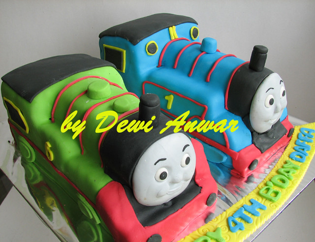 Thomas Amp Percy Cake Thomas The Tanks Engine Amp Percy Cake