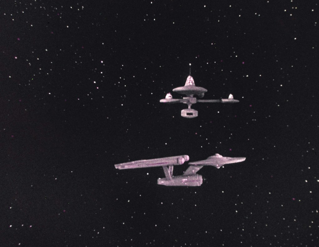 Space Station K7 and Enterprise | Space special effects ...