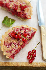 Red Currant Almond Tart | by La tartine gourmande