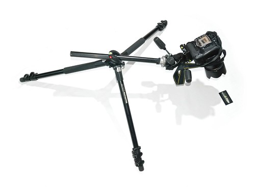 Manfrotto 055XProB + 808 RC4 + Nikon D300 + MB-D10 + Nikkor AF-S 17-55 F2.8 | by henryk86