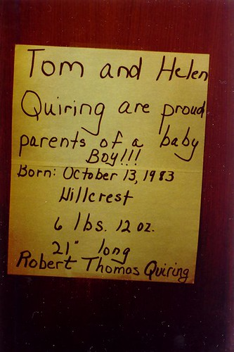 Robert's Birth Announcement | by rtquiring