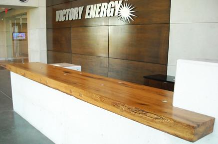 Antique White Oak Beams | by timberandbeam Reception Desk.Victory Energy. Antique White Oak Beams | by timberandbeam - Reception Desk.Victory Energy.Antique White Oak Beams Flickr