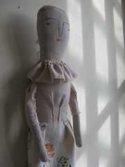walnut linen doll | by cathy cullis
