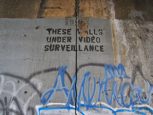 THESE WALLS UNDER VIDEO SURVEILLANCE | by H.L.I.T.