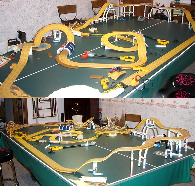 Slot car white house
