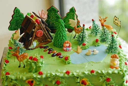 Enchanted Forest I Made This Birthday Cake For A Friend