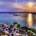 Oasis Sunset - lightened version