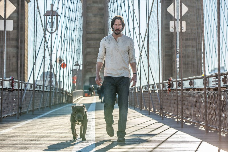 Keanu Reeves kills a whole bunch more people in JOHN WICK CHAPTER 2.