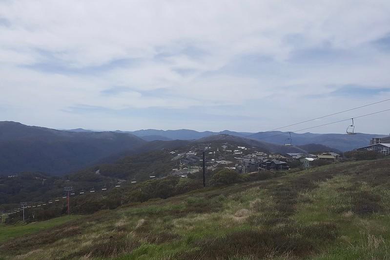 Am Wochenende wandern wir im Skigebiet von Mount Buller