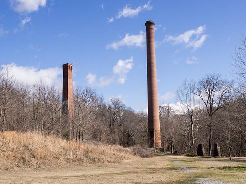Glendale Mill ruins - 2