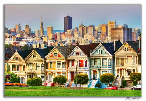 painted ladies san francisco 09 this famous row of colorf flickr. Black Bedroom Furniture Sets. Home Design Ideas