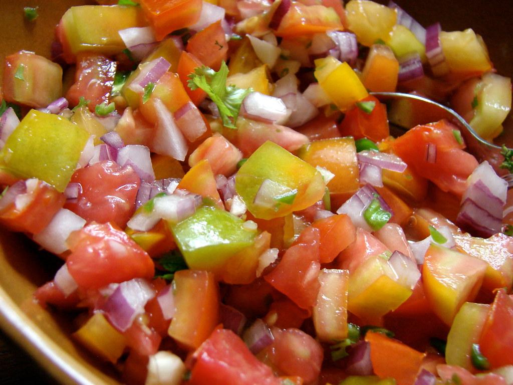 heirloom tomato pico de gallo | Jennifer Hess | Flickr